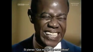 What a Wonderful World - Louis Amstrong (Español)