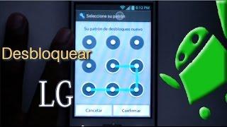 Desbloquear LG Optimus Por Intentos Fallidos Del Patrón