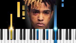 XXXTENTACION - changes - Easy Piano Tutorial