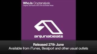 Who.Is - Cryptanalysis (Chris Schweizer Remix)