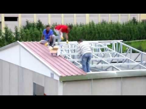 Prefabrik ev yapımı ve montajı - Karmod Prefabrik villa ve Prefabrik ev modelleri