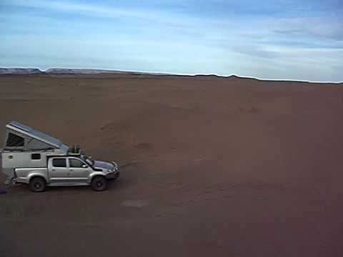Toyota Hilux Expedition Camper in Desert Bush Camp