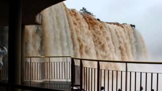 Cataratas em Foz do Iguaçu, PR Brasil