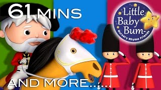Grand Old Duke Of York | Plus Lots More Nursery Rhymes | 61 Minutes Compilation from LittleBabyBum!