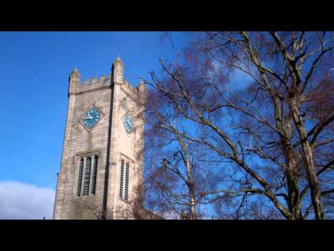 Burns and Old Parish Church Kilsyth North Lanarkshire Scotland