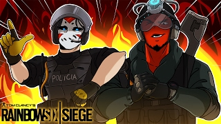 Rainbow Six: Siege | NEW OPERATORS MIRA & JACKAL! (w/ H2O Delirious) R6 Velvet Shell