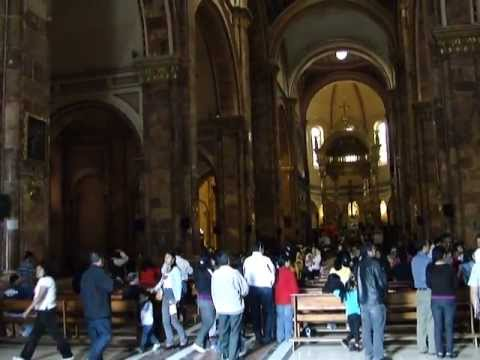Good Friday in Immaculate Conception Cathedral, Cuenca, Ecuador