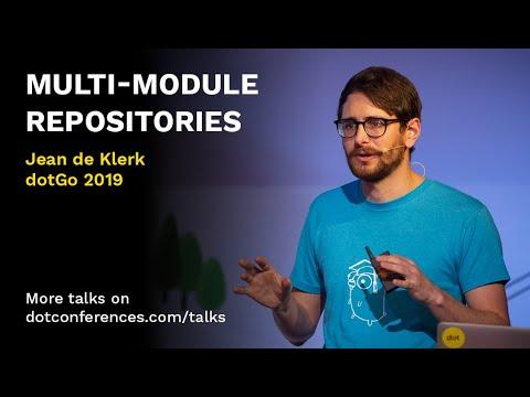 Multi-Module Repositories