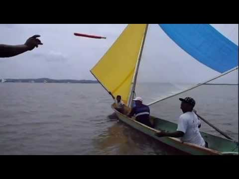 Sailboat race, Bluefields Nicaragua, May 2011
