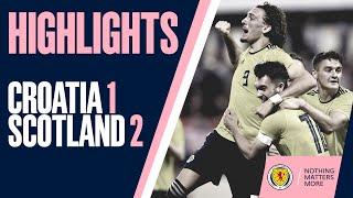HIGHLIGHTS | Croatia Under-21s 1-2 Scotland Under-21s