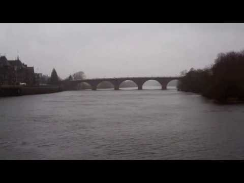 Dreich Morning River Tay Perth Perthshire Scotland