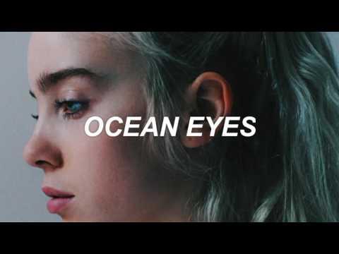 Ocean Eyes En Espanol de Billie Eilish Letra y Video