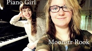 Stone Sour - Through Glass I Cover Moonstr Rook ft. Piano Girl