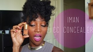IMAN CC Correct and Cover Power to Cream Concealer