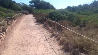 El camino hasta llegar a la cala d' moro Mallorca