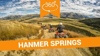 Things to Do in Hanmer Springs in 360 - New Zealand VR