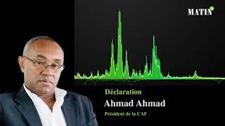 L'Afrique au Mondial : Ahmad Ahmad dresse un bilan «maigre et inquiétant»