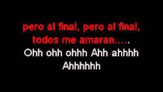 Todos Me Miran - Gloria Trevi (Karaoke).avi