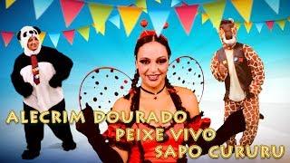 Alecrim Dourado, Peixe Vivo e Sapo Cururu - Banda Animakids (pout-pourri)