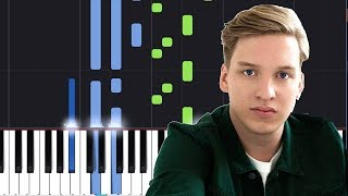 "George Ezra - ""Shotgun"" Piano Tutorial - Chords - How To Play - Cover"