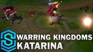 Warring Kingdoms Katarina Skin Spotlight - Assassin Update 2016 - League of Legends