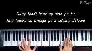 Kung 'Di Rin Lang Ikaw - December Avenue | Moira Dela Torre -  | Piano Cover