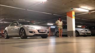 Parking Pushups - Bleed like me!