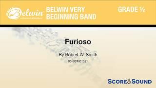 Furioso, by Robert W. Smith – Score & Sound
