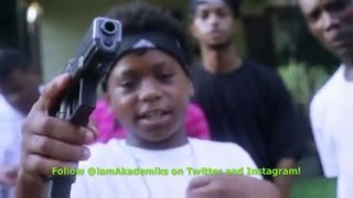 15 Year Old Memphis Baby Savage Puts out Music Video Waving Around More Guns Than a Small Army!
