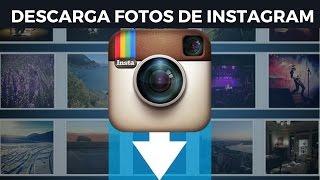 ¿Cómo descargar fotos de Instagram en gran resolución? [ PC ]