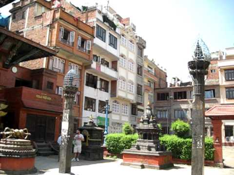 Neighborhood in Kathmandu