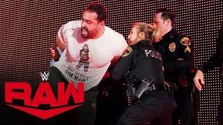 Rusev is arrested after unloading on Bobby Lashley: Raw, Nov. 25, 2019