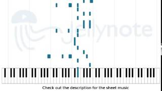 Exile Vilify - The National [Piano Sheet Music]