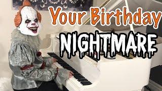 Happy Birthday in 3 Horror Styles - Piano | Jonny May
