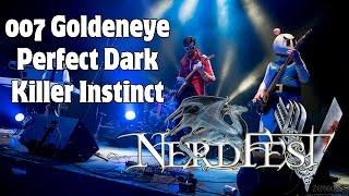 Goldeneye 007 Dam Theme | Perfect Dark Credits | Killer Instinct Title Theme LIVE