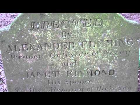 James Fleming Gravestone Newtyle Angus Scotland