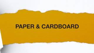 Paper & Cardboard [Teaser Video]