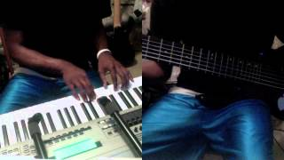 Frank Ocean Thinking About You Piano and Bass Cover