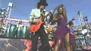 Beyonce & Santana, Oye como va, Super Bowl Medley