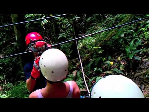 Zip-Line in Puerto RIco with Ricky Tour Guide
