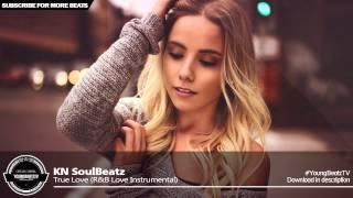 True Love - Beautiful Piano Love Rap Beat Instrumental - KN SoulBeatz