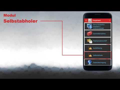 Digitalisieren Sie Ihre Inhouse Logistik | COSYS Hauspostverteilung Cloud Demo App für Smartphones
