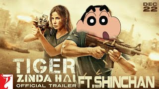 Tiger Zinda Hai - ft.ShinChan | Tiger Zinda Hai Spoof Version |Tiger Zinda Hai|