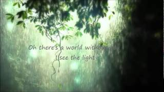 Living In A World Without You by The Rasmus lyrics (Acoustic version).wmv