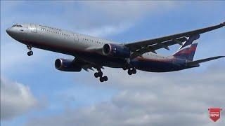 Arrivals at London Heathrow Airport, RW27L