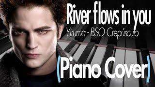 ♪ RIVER FLOWS IN YOU - BSO CREPÚSCULO (Piano Cover) - YIRUMA | DanielEnjoys