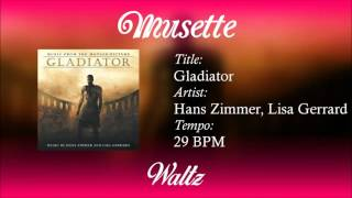 Waltz - Gladiator (29 BPM)