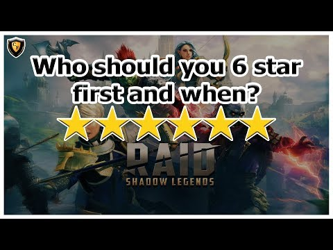 RAID: SL - Who should you 6 star first and when?