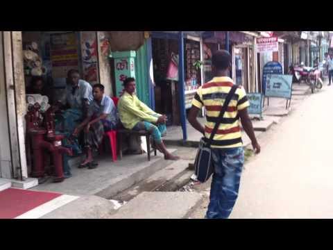 Street of Habigonj Bangladesh