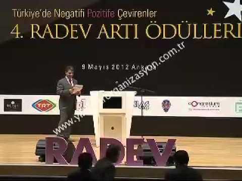Hasan Yıldız Altın Eserler Programına RADEV'den Ödül